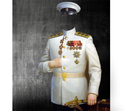 мундир генерала фото вставить начала выбираем четыре